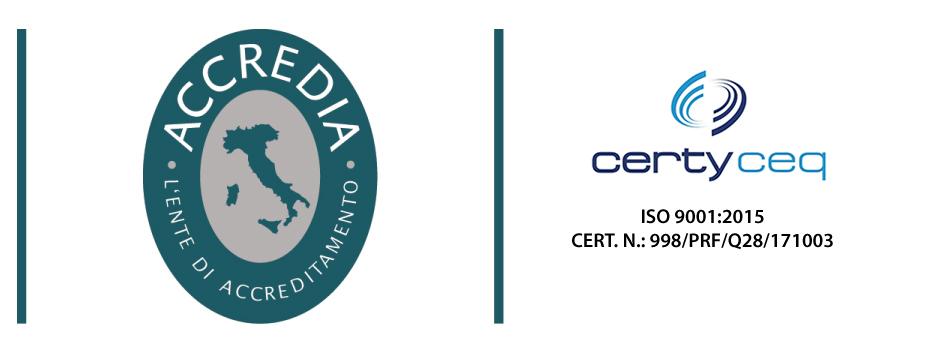 Certificazione di Qualità UNI EN ISO 9001:2015